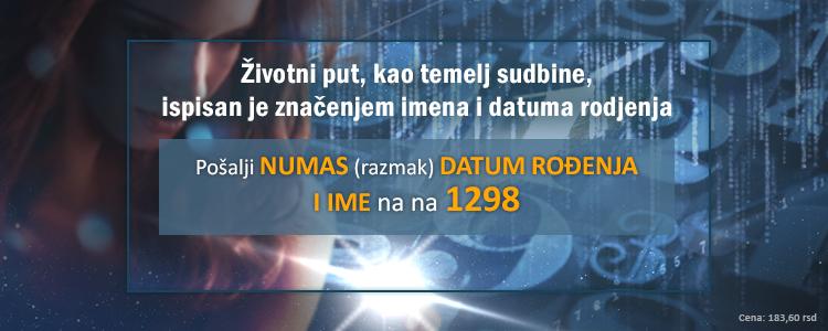 Pošaljite poruku da biste dobili vašu numerološku analizu