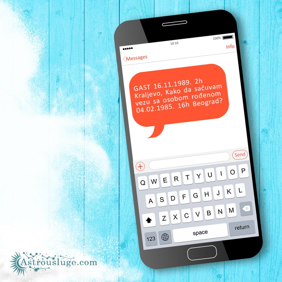 Pitaj astrologa sms porukom