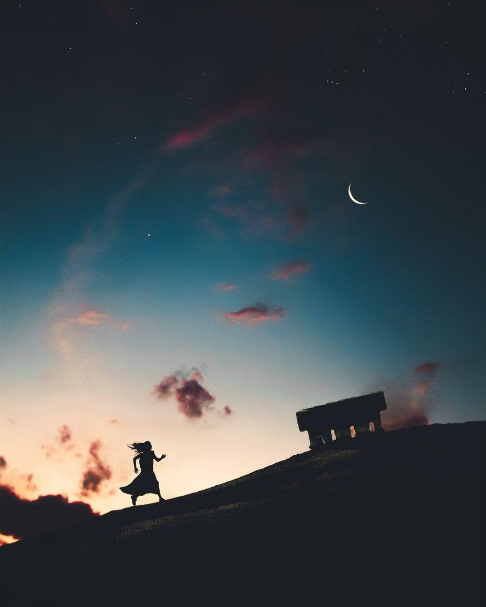 Zvezdano letnje nebo